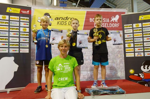 Siegerehrung andro Kids Open 2016 NRW-Talent-Cup