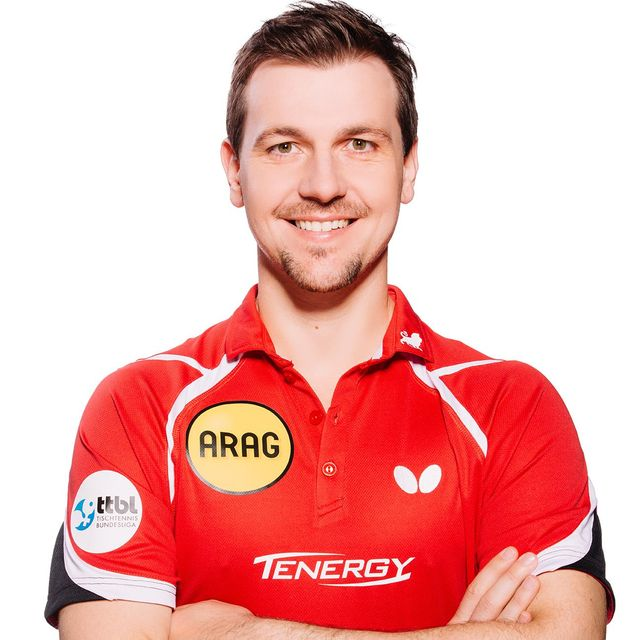 Timo Boll Portrait rot