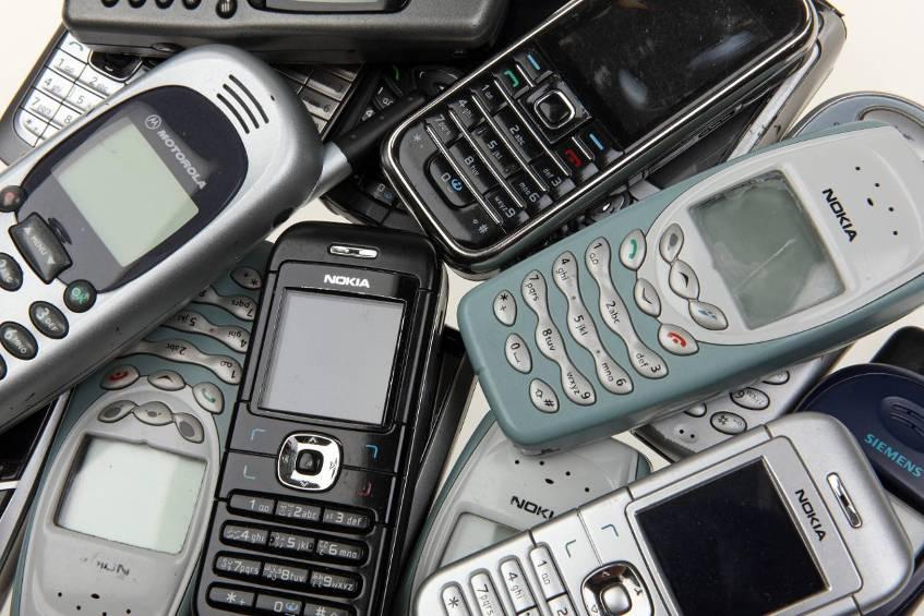 Alte Handys Einschicken